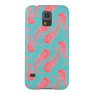 Vintager rosa samsung s5 cover