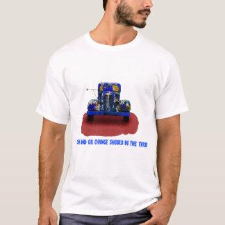 Vintager rostiger blauer LKW, Spaß, lustig T-Shirt