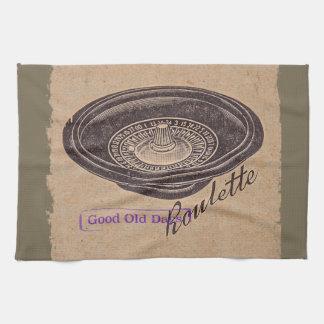 Vintager Roulette Küchentuch