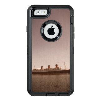 Vintager rustikaler Sepia gealterter Otter-Kasten OtterBox iPhone 6/6s Hülle
