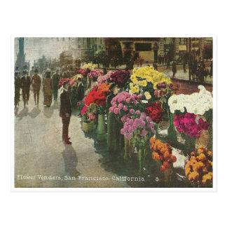 Vintager San Francisco Kalifornien Postkarte