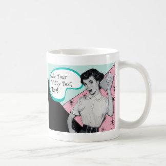 Vintager Sassy Sekretär Mug Kaffeetasse