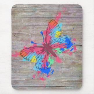 Vintager Schmetterling der coolen niedlichen Mousepad