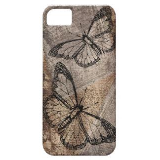 Vintager Schmetterling iPhone 5 Schutzhülle