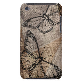 Vintager Schmetterling iPod Touch Case