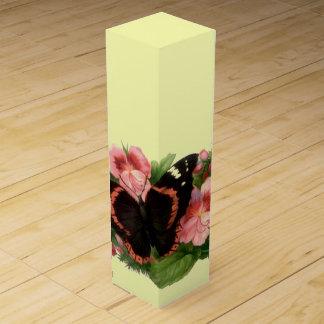 Vintager Schmetterlings-u. süße Flaschen Geschenkverpackungen