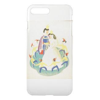 Vintager Schnee weiß und die sieben Zwerge iPhone 8 Plus/7 Plus Hülle