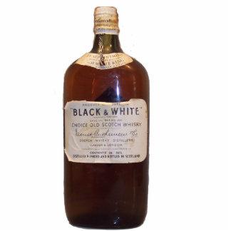 Vintager schottischer Whisky Freistehende Fotoskulptur