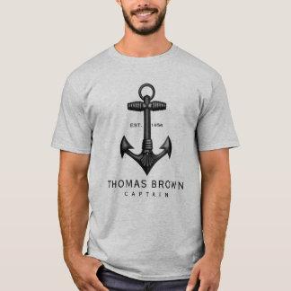 Vintager schwarzer T-Shirt