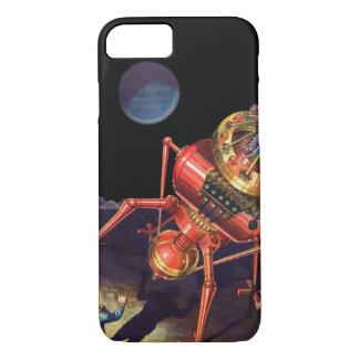 Vintager Science Fiction-Astronaut mit iPhone 7 Hülle