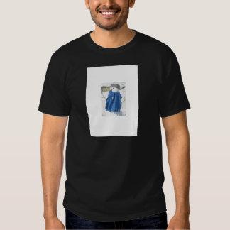 Vintager Snowman Effekt des Ausschnitts Hemd