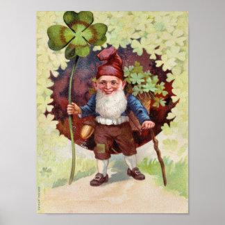 Vintager St Patrick Tag Poster