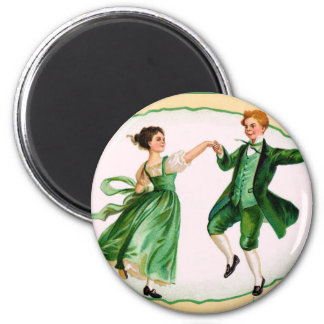 Vintager St Patrick Tagesmagnet Runder Magnet 5,1 Cm