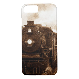 Vintager Steampunk Eisenbahn-Antiken-Dampf-Zug iPhone 8/7 Hülle