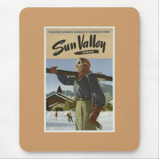 Vintager Sun- Valleyski Mauspads