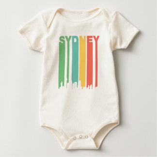 Vintager SydneyCityscape Baby Strampler