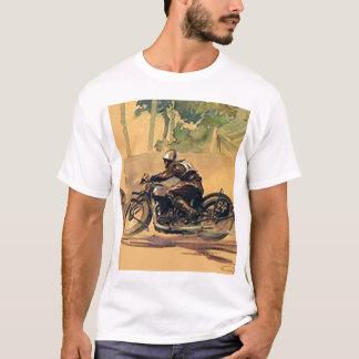 Vintager T - Shirt des Motorrads