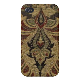 Vintager Tapeten-Paisley-Speck-Kasten iPhone4 iPhone 4/4S Hülle
