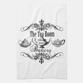 Vintager Teeraum und -bäckerei kichen Tuch