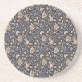 Vintager Textilentwurf Williams Morris Evenlode Untersetzer