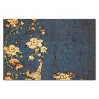 Vintager traditioneller japanisches Papier-Druck Seidenpapier
