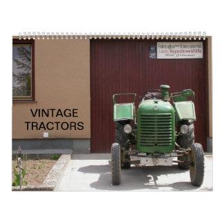 Vintager Traktor-Kalender 2018 Abreißkalender