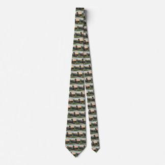 Vintager Transport, Western-antiker Kohlen-Zug Krawatte
