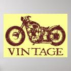 Vintager Triumph Poster