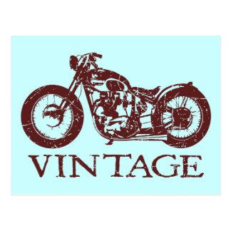 Vintager Triumph Postkarte