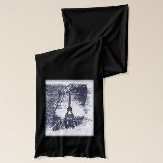 Vintager Turm 5 Paris Eiffel Schal
