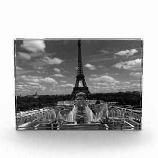 Vintager Turm Eiffel Frankreichs Paris Fontain Auszeichnung