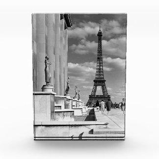 Vintager Turm Frankreichs Paris Eiffel Chaillot Acryl Auszeichnung