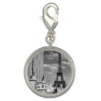 Vintager Turm Frankreichs Paris Eiffel Chaillot Foto Charms