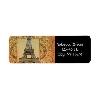 Vintager Turm Paris Eiffel des modernen girly