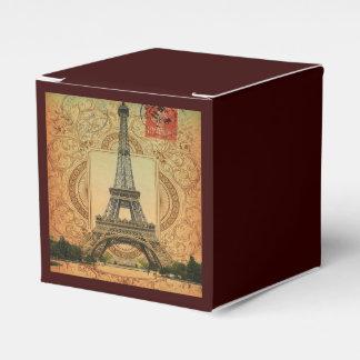 Vintager Turm Paris Eiffel des modernen girly Geschenkschachtel