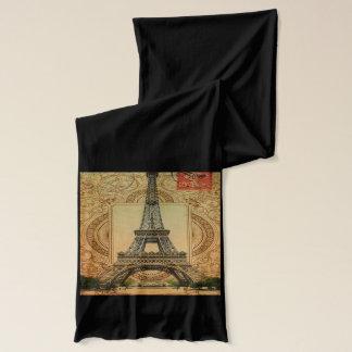 Vintager Turm Paris Eiffel des modernen girly Schal