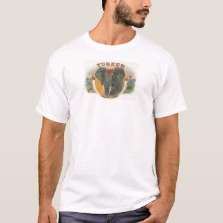 Vintager Tusker Elefant T-Shirt