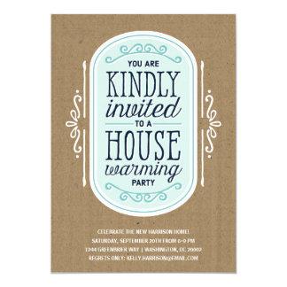 Vintager Typografie| Housewarming Pary