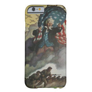Vintager Uncle Sam Fall Barely There iPhone 6 Hülle