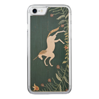 Vintager Unicorn Carved iPhone 8/7 Hülle
