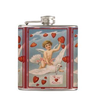 Vintager Valentine Flachmann