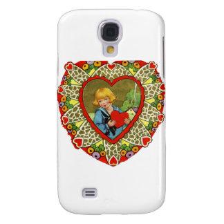 Vintager Valentine Galaxy S4 Hülle