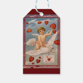 Vintager Valentine Geschenkanhänger