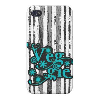 Vintager Veggie für Vegetarier und Vegans Etui Fürs iPhone 4