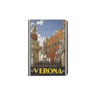 """Vintager """"Verona"""" Pass-Schutz Passhülle"""