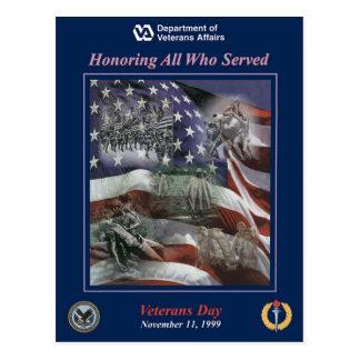 Vintager Veteranentag, 1999 - Postkarte