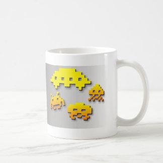 Vintager Videospiel-Raum Kaffeetasse