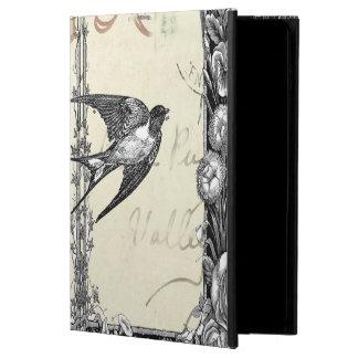 Vintager viktorianischer Art-Vogel Ipad Fall