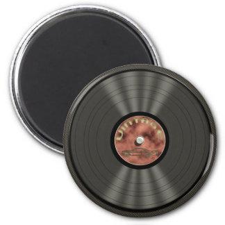 Vintager Vinylaufzeichnungs-Magnet Kühlschrankmagnet