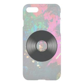 Vintager Vinylmusik-Aufzeichnungs-Nachtklub oder iPhone 8/7 Hülle